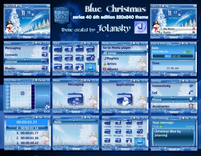 x-blue-christmas-lot